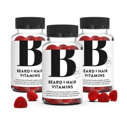 Beard & Hair Vitamins 3-pack