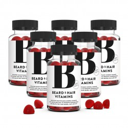Beard & Hair Vitamins 6-pack